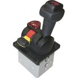 ABER, LDA - пневматический распределитель с заслонкой / с ручным приводом / 3 канала