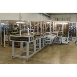 ABL AUTOMAZIONE S.p.A. - автоматическая линия сборки / для контроля / для разгрузочно-погрузочных работ / для клапана порошковог