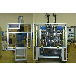 ABL AUTOMAZIONE S.p.A. - полуавтоматическая сборочная машина / для использования в автомобиле / гибкая / с поворотным столом