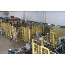 полуавтоматическая линия сборки  ABL AUTOMAZIONE S.p.A. - полуавтоматическая линия сборки / автоматизированная / роботизированна
