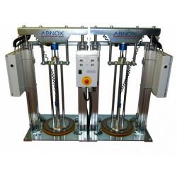 насос для жиров / с пневмопривод ABNOX - насос для жиров / с пневмоприводом / полупогружной / промышленный