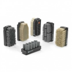 полосовая щетка / абразивная / и ABRASIVOS KUMEX - полосовая щетка / абразивная / из пластика / для камня