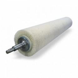 цилиндрическая щетка / для конве ABRASIVOS KUMEX - цилиндрическая щетка / для конвейерной доставки / для очистки / для галтовки