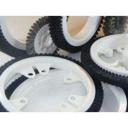 цилиндрическая спиральная щетка  ABRASIVOS KUMEX - цилиндрическая спиральная щетка / для очистки / из пластика