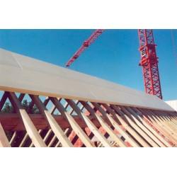 многослойная панель прокладка из Abriso - многослойная панель прокладка из ПВХ / поверхность из фанеры / для потолков