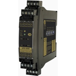 APD 8000 Absolute Process Instruments - формирователь сигнала на DIN-рейке / цифровой / программируемый / конфигурируемый