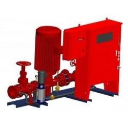противопожарная насосная установ AC Fire Pump - противопожарная насосная установка / компактная