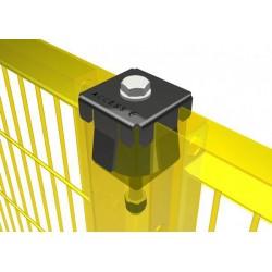 Meta® series Access Srl - крепежный элемент для алюминиевых профилей / металлизированный