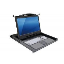 выдвижной ящик на роликах для кл Acnodes corporation - выдвижной ящик на роликах для клавиатуры / для компьютера / 1U
