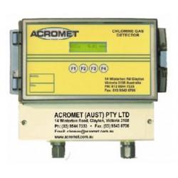 детектор утечек для газов / хлор Acromet - детектор утечек для газов / хлора / с цифровым дисплеем