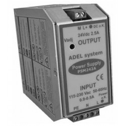 источник электропитания AC/DC /  ADELsystem - источник электропитания AC/DC / с одним выходом / на DIN-рейке