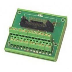 коннектор плата-провод / DIN / п ADELsystem - коннектор плата-провод / DIN / прямоугольный / с блокировкой