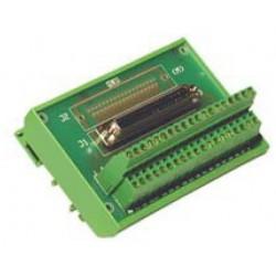 коннектор D-sub / прямоугольный  ADELsystem - коннектор D-sub / прямоугольный / внутренняя резьба / для электронной карты