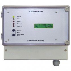 многоканальная станция обнаружен ADOS GmbH, Mess- und Regeltechnik - многоканальная станция обнаружения газа