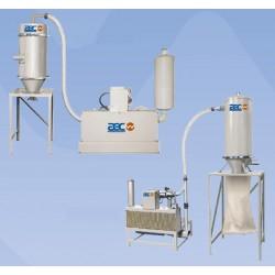 вакуумный насос со смазкой / одн AEC, Inc. - ACS Group - вакуумный насос со смазкой / одноуровневый / пневматический / для транс