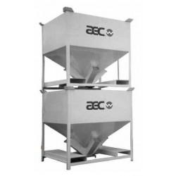 IBC-контейнер из алюминия / для  AEC, Inc. - ACS Group - IBC-контейнер из алюминия / для сыпучих материалов / транспортный