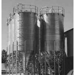 болтовой бункер / для сыпучих ма AEC, Inc. - ACS Group - болтовой бункер / для сыпучих материалов / оцинкованный