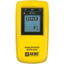 индикатор последовательности чер AEMC Instruments - индикатор последовательности чередования фаз / цифровой / портативный