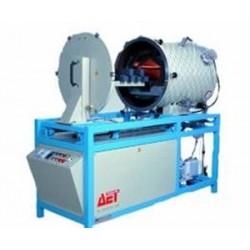 печь с вращающейся ретортой / ин AET TECHNOLOGIES - печь с вращающейся ретортой / инфракрасная / вакуумная / горизонтальная