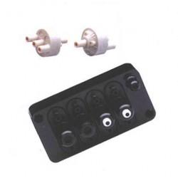 датчик расхода с трубкой вентури AIR Logic - датчик расхода с трубкой вентури / вакуумный / воздушный / линейный