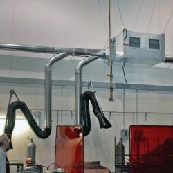 настенный дымоуловитель / для св Air Quality Engineering - настенный дымоуловитель / для сварки / с электростатическим фильтром