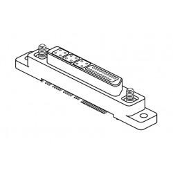 коннектор микро-D / прямоугольны Airborn - коннектор микро-D / прямоугольный / блокируемый винтом / для электронной карты