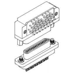 коннектор D-sub / USB / PCB / из Airborn - коннектор D-sub / USB / PCB / изогнутый