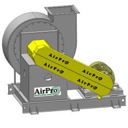 радиальный вентилятор / для отво AirPro Fan & Blower - радиальный вентилятор / для отвода / промышленный