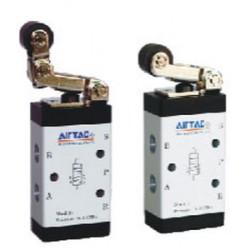 клапан с пневматическим управлен Airtac Automatic Industrial - клапан с пневматическим управлением / для воздуха / выпуска / 5/2