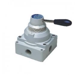 клапан с рычагом / с пневматичес Airtac Automatic Industrial - клапан с рычагом / с пневматическим управлением / для воздуха / 4