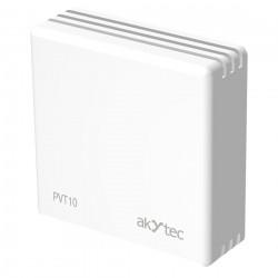 относительный датчик влажности / akYtec GmbH - относительный датчик влажности / настенный / с измерением температуры / Modbus