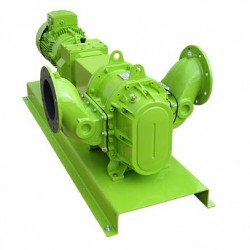шламовый насос / электрический / Albin Pump AB - шламовый насос / электрический / роторно-лопастный / для сельского хозяйства