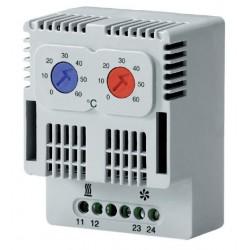 контактный термостат / биметалли Alfa Electric - контактный термостат / биметаллический / регулируемый / компактный