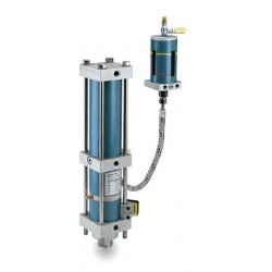 пневматический цилиндр / с двойн alfamatic - пневматический цилиндр / с двойным эффектом / компактный / с отдельным усилителем