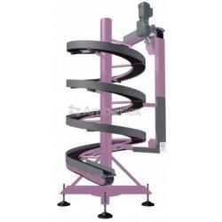 ленточный конвейер / для шпуль / AmbaFlex Spiral Conveyor Solutions - ленточный конвейер / для шпуль / для бутылок / накопительн