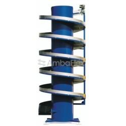 ленточный конвейер / для ящиков  AmbaFlex Spiral Conveyor Solutions - ленточный конвейер / для ящиков / для мешков / для контейн