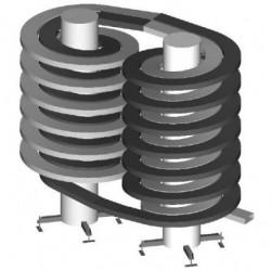 ленточный конвейер / накопительн AmbaFlex Spiral Conveyor Solutions - ленточный конвейер / накопительный