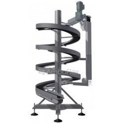 ленточный конвейер / для лотков  AmbaFlex Spiral Conveyor Solutions - ленточный конвейер / для лотков / для пакетов / для картон
