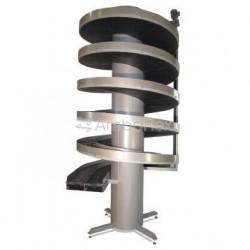 ленточный конвейер / спиральный  AmbaFlex Spiral Conveyor Solutions - ленточный конвейер / спиральный с двумя каналами