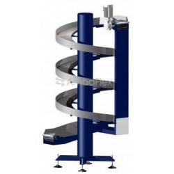 ленточный конвейер / для ящиков  AmbaFlex Spiral Conveyor Solutions - ленточный конвейер / для ящиков / для мешков / для картона