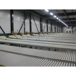 конвейер с роликами / модульный  AmbaFlex Spiral Conveyor Solutions - конвейер с роликами / модульный / горизонтальный