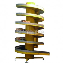 ленточный конвейер / для авиацио AmbaFlex Spiral Conveyor Solutions - ленточный конвейер / для авиационной промышленности / спир
