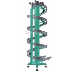 конвейер для подъемника / с фарт AmbaFlex Spiral Conveyor Solutions - конвейер для подъемника / с фартуком / для мешков / спирал