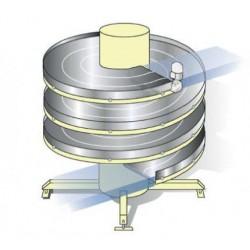ленточный конвейер / для багажа  AmbaFlex Spiral Conveyor Solutions - ленточный конвейер / для багажа / спиральный / компактный
