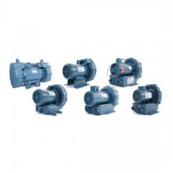 выдуватель воздуха / с ротором / AMETEK Dynamic Fluid Solutions - выдуватель воздуха / с ротором / одноуровневый / из алюминия