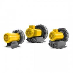выдуватель для газов / с ротором AMETEK Dynamic Fluid Solutions - выдуватель для газов / с ротором / одноуровневый / из алюминия