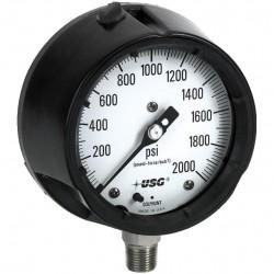 аналоговый манометр / с жидкостн AMETEK PMT Products - аналоговый манометр / с жидкостной трубкой Бурдона / для процесса / для в