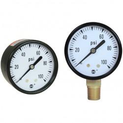 аналоговый манометр / с трубкой  AMETEK PMT Products - аналоговый манометр / с трубкой Бурдона / для вакуума / из латуни