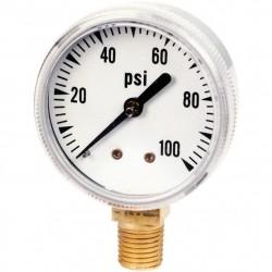 аналоговый манометр / с жидкостн AMETEK PMT Products - аналоговый манометр / с жидкостной трубкой Бурдона / для процесса / из ла