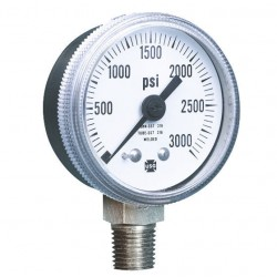 аналоговый манометр / с трубкой  AMETEK PMT Products - аналоговый манометр / с трубкой Бурдона / для процесса / для воздуха